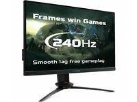 "ACER Predator XB273X Full HD 27"" Inch LED Gaming Monitor 240 Hz PC HDMI - Black"