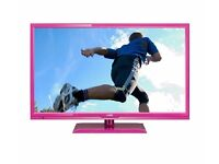 "24"" Pink LED TV/DVD combo - Full HD 1080p - boxed as new"