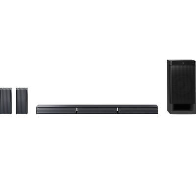 SONY HT-RT3 5.1 Sound Bar Black 600 W with dialogue enhancement & Subwoofer