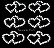 Self Adhesive Pearl Hearts