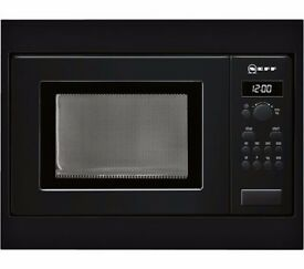 Neff H53W50S3GB Classic Collection 3 Built In Microwave 17L 800 Watt Black New