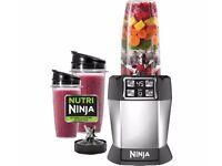 Nutri Ninja BL480UK Auto IQ 1000W Blender Juicer Smoothie Maker-2 cups