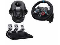 Logitech G29 Steering Wheel and Shifter compatible with PS3/PS4 and PC. BRAND NEW IN BOX