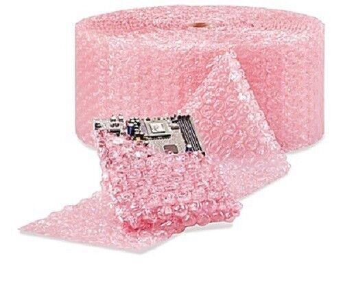 "1/2"" Large Bubble Wrap Cushioning Anti-Static Roll Padding 250"