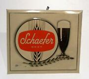 Schaefer Beer Sign