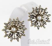 Betsey Johnson Snowflake Earrings