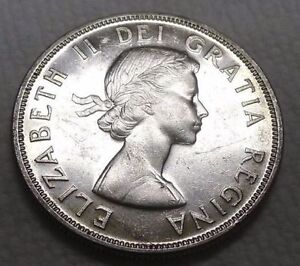 GRADED, SILVER MADE 1939 CANADA $1 ONE DOLLAR COIN MS66 QUALITY