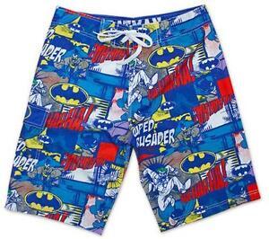 70b4007464111 Boys Batman Swim Trunks