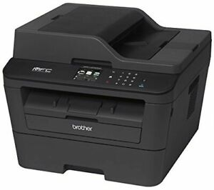 Brother MFCL2740DW Wireless Monochrome Printer with Scanner, Cop
