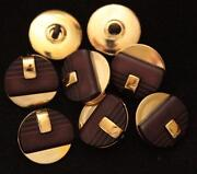 Lot Gold Buttons