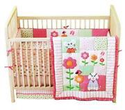Pink Crib Skirt