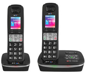 BT8500 TWIN DIGITAL CORDLESS ANSWER PHONE WITH ADVANCED CALL BLOCKER / CALL GUARDIAN