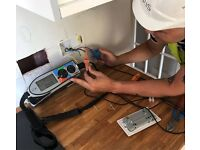Electrician available for repairs and new installs in Greenwich and Blackheath