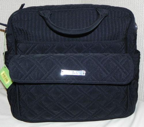 vera bradley diaper bag black ebay. Black Bedroom Furniture Sets. Home Design Ideas