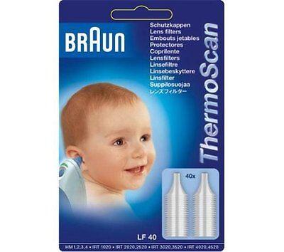 40 Schutzkappen Braun Thermoscan Sonden Abdeckung für Irt 4520 4020 3020 3520