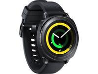 Samsung Gear Smart Watch Sport Hybrid Band 44.6mm Case Classic / Black / New