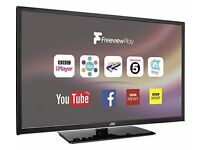 "JVC LT-32C672 32"" Smart LED TV- HD Ready, Catch up Tv, Freeview, Netflix, USB -New"