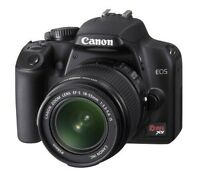 Canon Rebel XS w 2 New Lenses and more