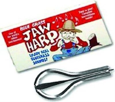 NEW GROVER 8037 USA MADE NICKEL PLATED JAW HARP MUSIC INSTRUMENT NEW IN BOX SALE