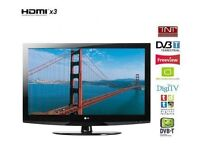 """LG 42"""" inch HD LCD TV with Freeview Built in, 3 x HDMI not 32, 37, 39, 40, 43 May Deliver Locally"""