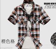 Plaid Western Shirt Men