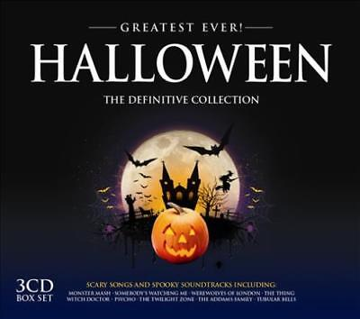 VARIOUS ARTISTS - GREATEST EVER HALLOWEEN USED - VERY GOOD CD ()