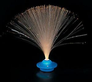 UFO-Fiber-Optic-Light-Groovy-Sci-Fi-Novelty-Alien-U-F-O-Lamp-NEW