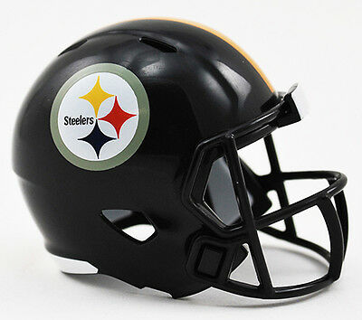 PITTSBURGH STEELERS NFL Cupcake / Cake Topper Mini Football Helmet (Steelers Cupcake Toppers)