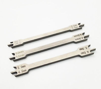 Orthodontic Instruments Dental Bracket Positioning Height Gauge Wick Type 0.018