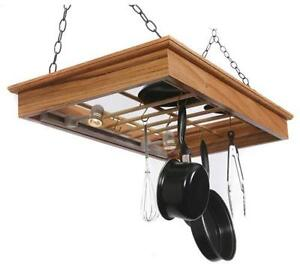kitchen island hanging pot racks hanging pot rack ebay 8181