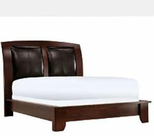 queen platform bed frame