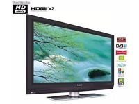 """32"""" INCH PHILLIPS HD LCD TV WITH BUILT IN FREEVIEW TV CHANNELS##CAN BE DELIVERED##"""
