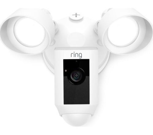 Brand new ring floodlight cam white