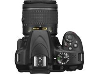 NIKON D3400 DSLR Camera with 18-55 mm f/3.5-5.6 Lens - Black | Brand new | Unused | Unopened