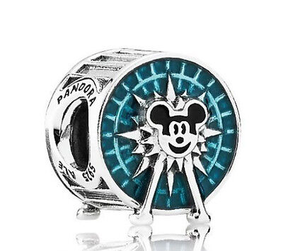 New Authentic Pandora Disney Bead 'Mickey's Fun Wheel' Charm Park Exclusive