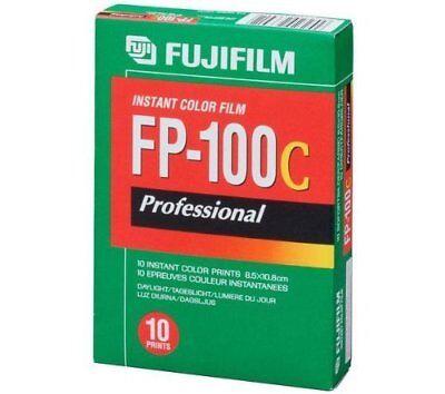 FUJIFILM  FP-100 C  GLOSSY/GLANZ   1 Film  MHD/expiry date 08/2018