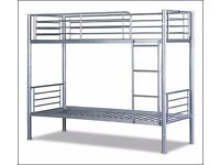 Brand new 3ft silver metal bunks at trade prices