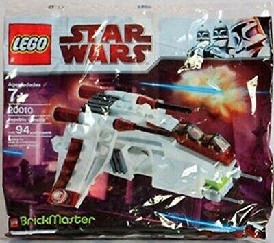 Lego Star Wars 20010 Brickmaster Mini Republic Gunship - Free Shipping