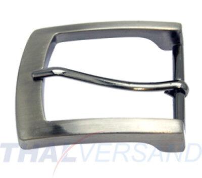 Gürtelschnalle für 40mm Gürtel Silber Antik Gürtelschliesse Buckle Schließe