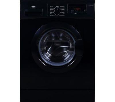 LOGIK L612WMB17 6 kg 1200 Spin Washing Machine - Black