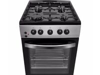 [Ex-Display] Currys Dual Fuel Cooker 50cm - Silver & Black - CFSGSV17