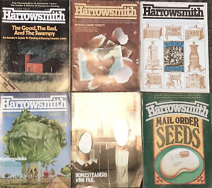 Vintage Harrowsmith Magazines - 28 in Total: 1978-1988