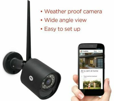 MOTOROLA Focus 72 Outdoor WiFi Home Security Camera  Brand New