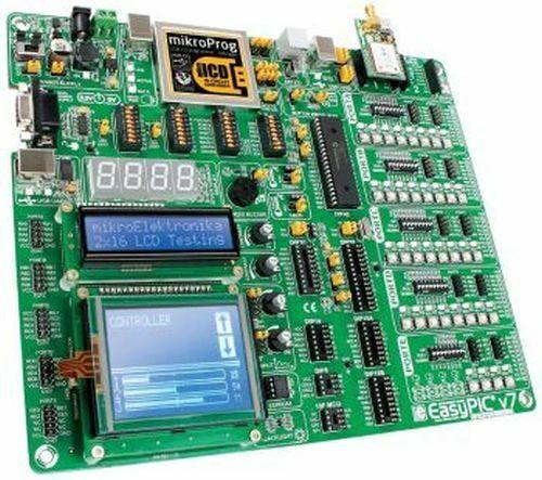 Development System for 8/14/18/20/28/40-pin PIC: EasyPIC v7