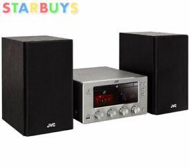 JVC CD Player DAB FM Radio Bluetooth HI-FI 150W UX-D150 Valve Amp Stereo System
