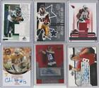 Jersey Auto Football Cards