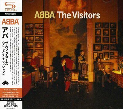 ABBA THE VISITORS DELUXE EDITION SHM-CD DVD BONUS TRACK I00