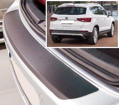 Seat Ateca - Carbon Style rear Bumper Protector