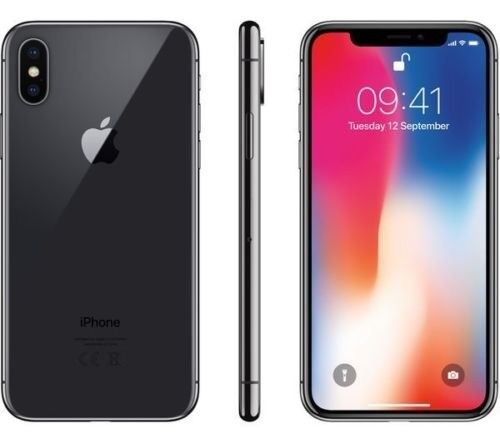 Apple iPhone X - 256GB - Brand New Space Grey (Unlocked) - £1300 - In Hand Now! (2 AVAILABLE)