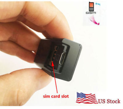 Hidden Gsm Sim Card  Audio Bug Monitor Listening Device Voice Activate Spy Bug
